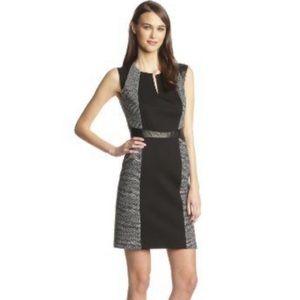 Rebecca Taylor Tweed & Twill Dress, Size 6